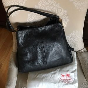 Coach Phoebe bag in black. With orig dust bag.